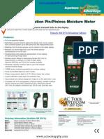 Extech MO270 Instructions