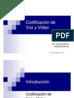 Codificacion de Voz y Video (Presentacion)