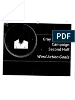 Gray Campaign Ward Goals