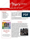Friends of Note Newsletter 03.12