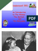 Montessori en inglés Vilma