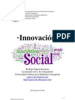 Innovación. Rodrigo García