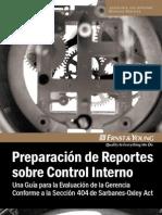1. Metodología de Preparación de Reportes sobre Control Interno EY