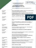 UPRRP Calendario Ps 1213