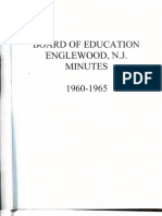 Englewood Board of Education Minutes, 1960-65 Part 1