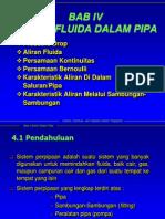 Bab 04 Aliran Fluida Dalam Pipa