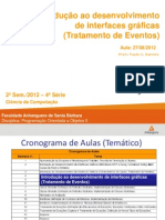 Aula IV - Interfaces gráficas tratamento de eventos