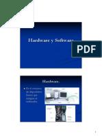 1 Hardware y Software
