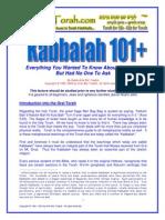 Kabbalah 101