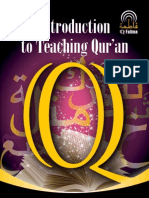 Introduction to Teaching Qur'Aan