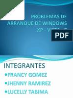 Problemas de Arranque de Windows Xp, 7