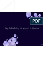 Ang Talambuhay ni Quezon