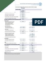 Aquastat Water Balance Sheet Bra En