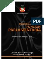 Informe de Gestion Anual Julio 2011 - Julio 2012