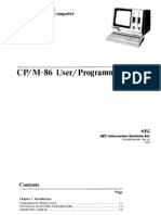 NEC APC CPM86 Programmers Guide Aug83