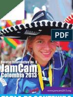 3º Boletín - JamCam 2013
