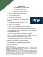 1ª lista de exercicios redes industriais III