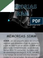 4 Memorias Ram