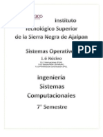 Tablas ARP 1.6 Núcleo