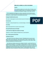 Como Compilar El Kernel Al Estilo de Debian