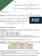 Ejercicios_voluntarios Álgebra de matrices