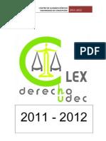Resumen CaaLex periodo 2011-2012