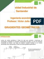 gradiente geométrico
