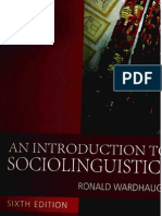 An Introduction to Sociolinguistic