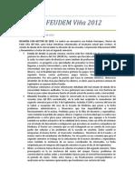 Acta Nº3 FEUDEM Viña 2012