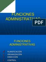 2. Funciones de la Aadministración