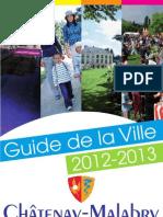Guide de La Ville 2012-2013 de la Ville de Châtenay-Malabry