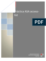 Práctica ASA access-list