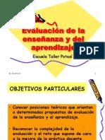 Evaluación de la enseñanza y del aprendizaje