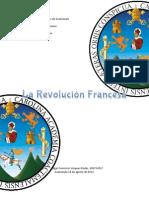 Investigación Revolución Francesa