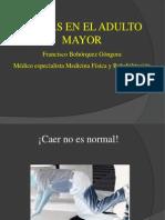Caidas en El Adulto Mayor 2012