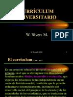 Curriculum Universitario