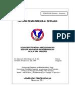 Laporan Penelitian Hibah Bersaing Pengidentifikasian Dimensi Dimensi Budaya Indonesia Pengembangan Skala Dan Validasi