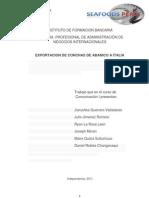 Monografía Exportación a Italia