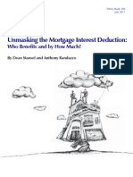 Unmasking the Mortgage Interest Deduction (Full)
