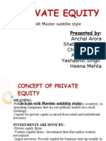 1. Private Equity