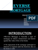 3. Reverse Mortgage