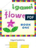 Origami Flowers Book One