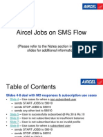 Aircel Jobs on Sms
