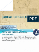 Great Circle Sailing Notes