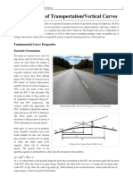 Fundamentals of Transportation_Vertical Curves