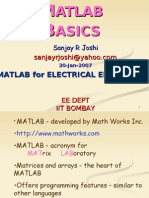 Matlab Basics MEE