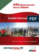 Cartilla Informativa Proyecto de Modernizacon de la Refinería Talara