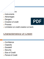 Credit Creation and Money Supply