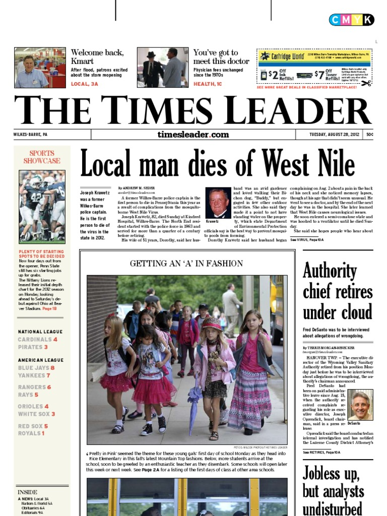 Times Leader 08 28 2012