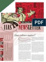 Does Culture Matter